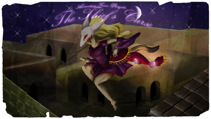 The Thief's Curse Title Card by AskStelera