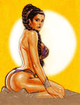 Princess Leia in Slave Outfit