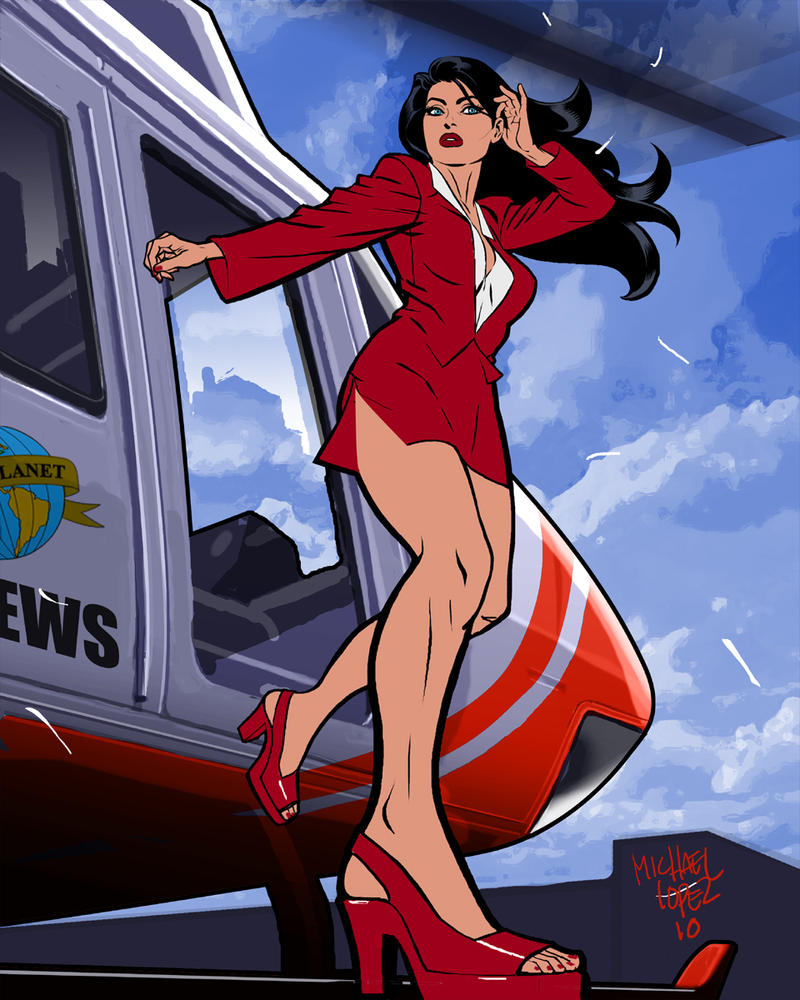 lois lane by michael lopez by LOPEZMICHAEL
