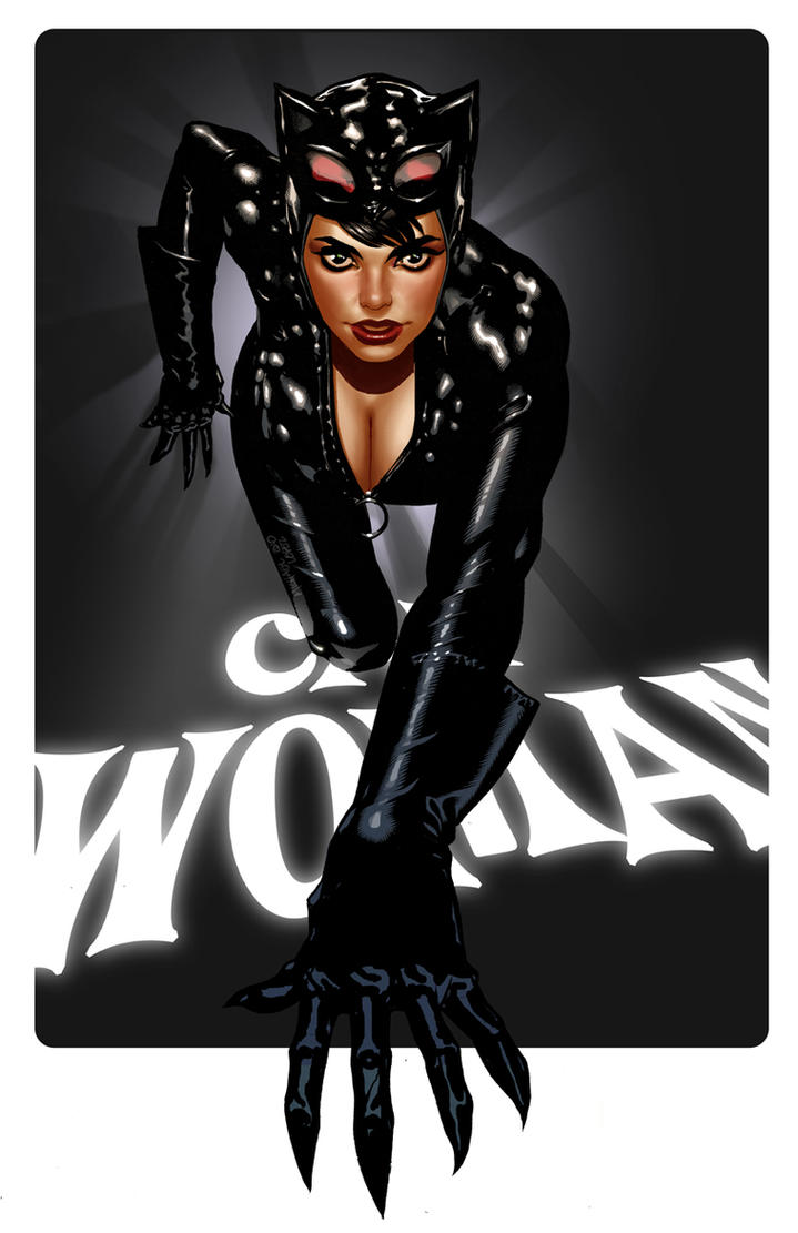 CatWoman by Michael Lopez by LOPEZMICHAEL
