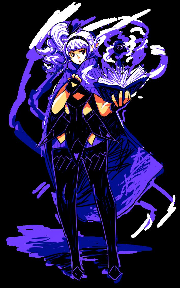 Dark Elf Lust by AbyssOkami