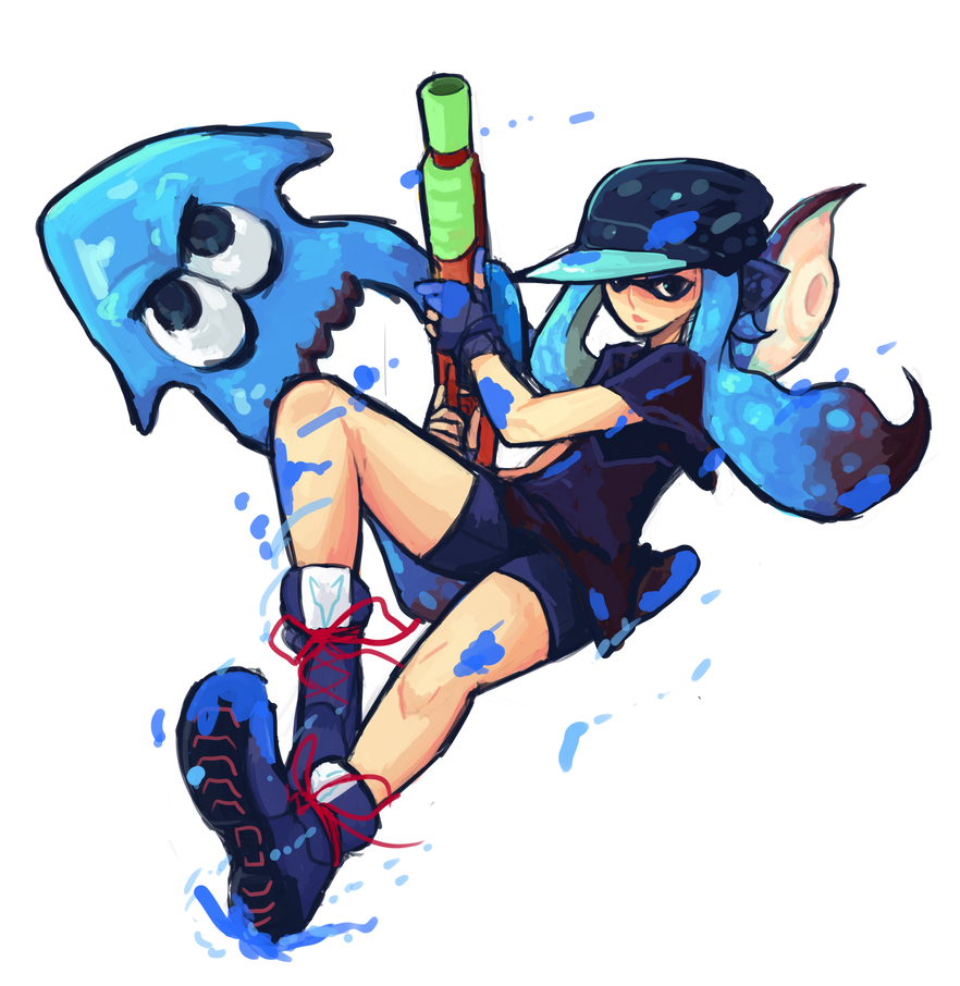 Inkling by AbyssOkami