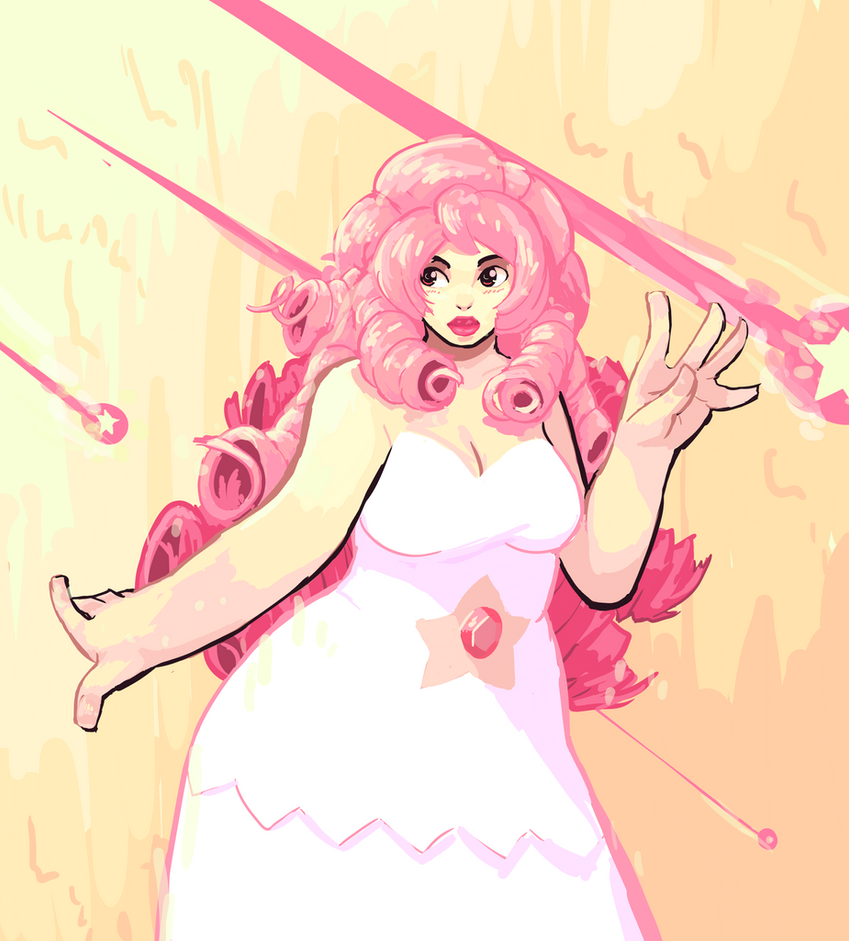 Rose Quartz by AbyssOkami