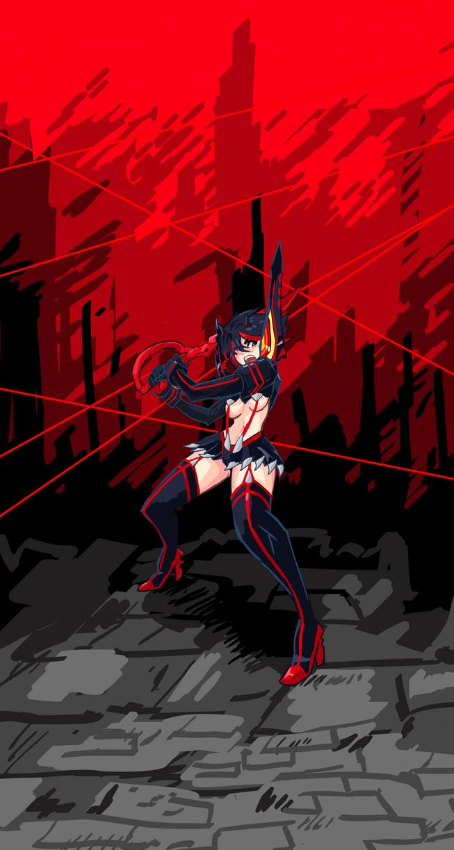 KLK Ryuko by AbyssOkami