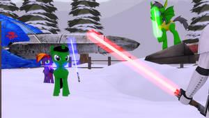 (SFM) Three little Jedis vs The Sith