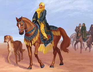 Arabian Princess by PonyCool42