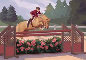 Feelin' Rosy by PonyCool42
