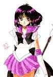 Super Sailor Saturn by Miszcz90