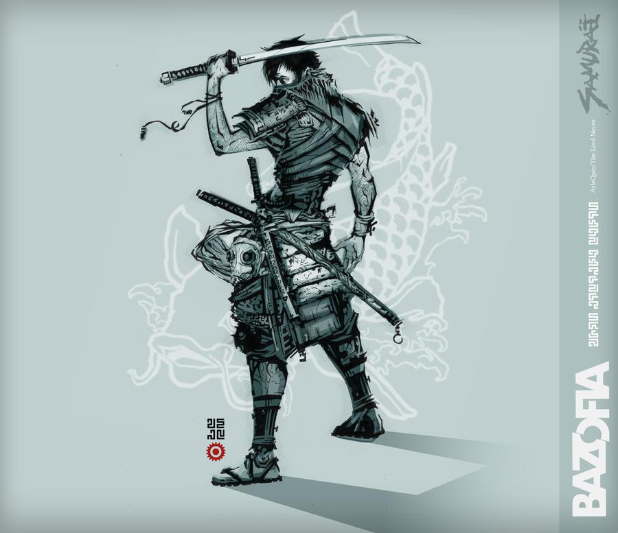samurai1 carpa by lordnecro