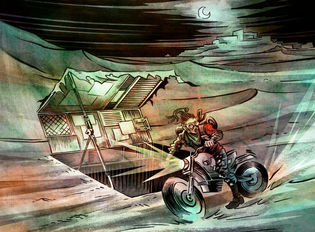 motociclista by lordnecro