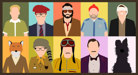 Wes Anderson by mahmusx