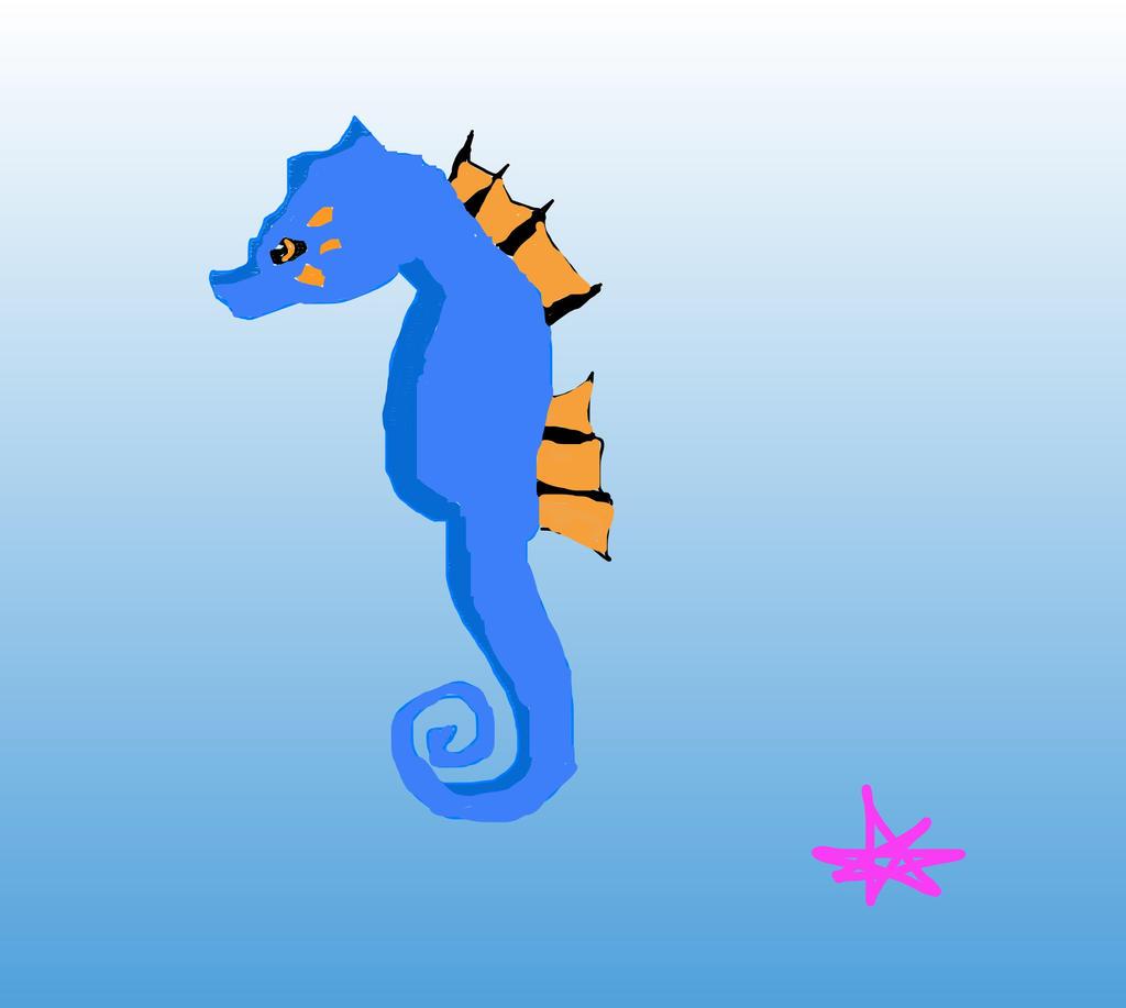 Seahorse by mermaidgirl013