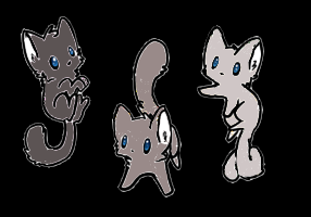 3 shades of gray adopts (open) by mermaidgirl013