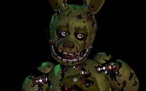 [C4D] Springtrap Lighting Test by DavidAl3man