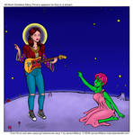 Mary Timony appears to Suzi in a dream