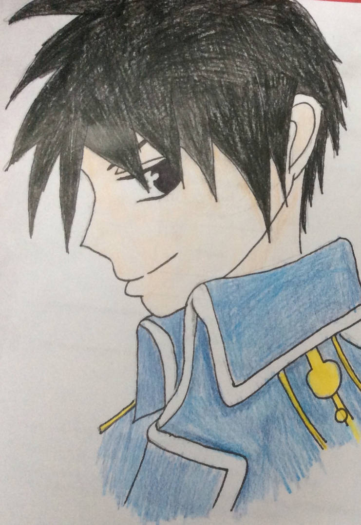 Roy Mustang by dacringeyfangirl