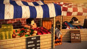Market Afternoon