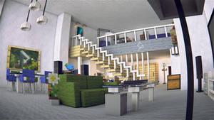 Minecraft Apartment (Alternative View 1)