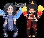 ATLA's Girls Adopt! :OPEN: by Mizukiowo