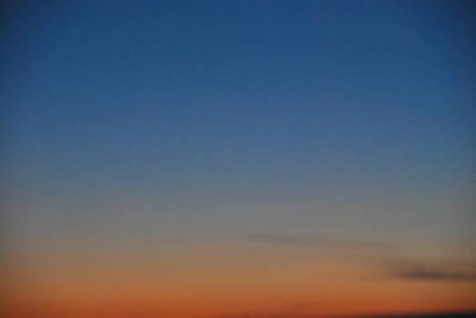 Eastern Montana Sunset in November