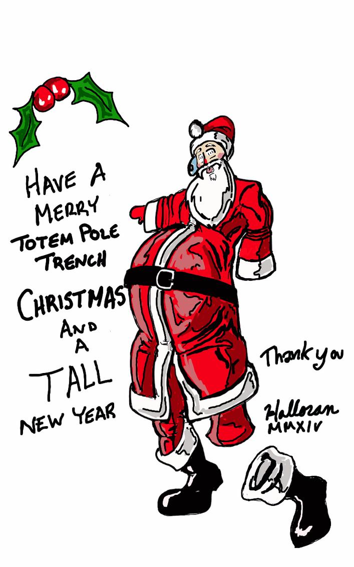 Christmas card by Badboych