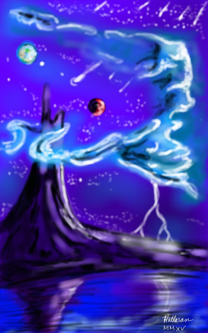 Alien Landscape by Badboych