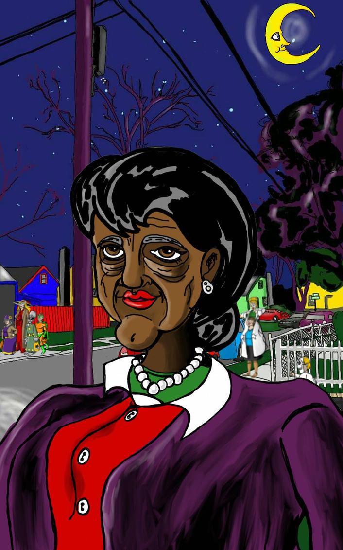 Fraudulent Aunt by HalloranIllustration