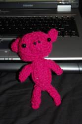 Crochet Pig. by Jessica-Pot