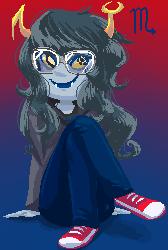 Vriska Pixel by MissMooButt