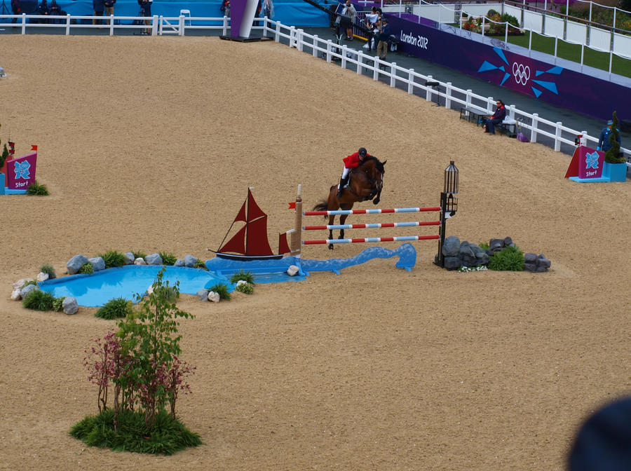Olympics show-jumping 2 by TheManateePhotos