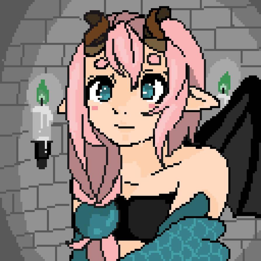 Pixel Elenor by 14Yoshipig