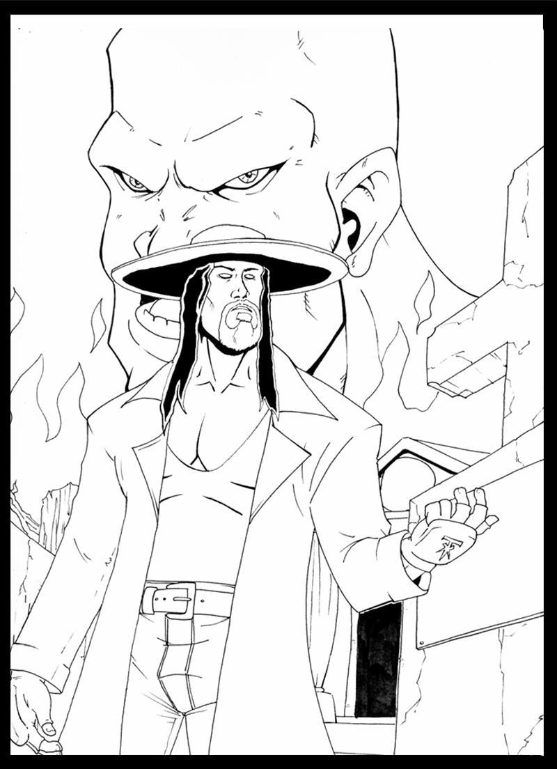 LN - Undertaker and Kane by Mono-Phos on DeviantArt
