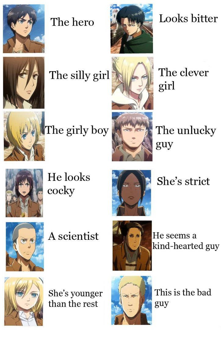 Ask Your Parents P O V Of Snk Characters by SenshiOfSadness