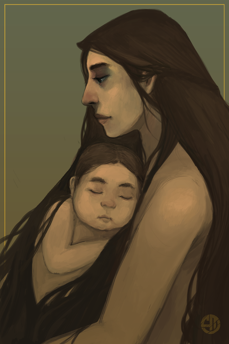 Mother and child by akhrzmed