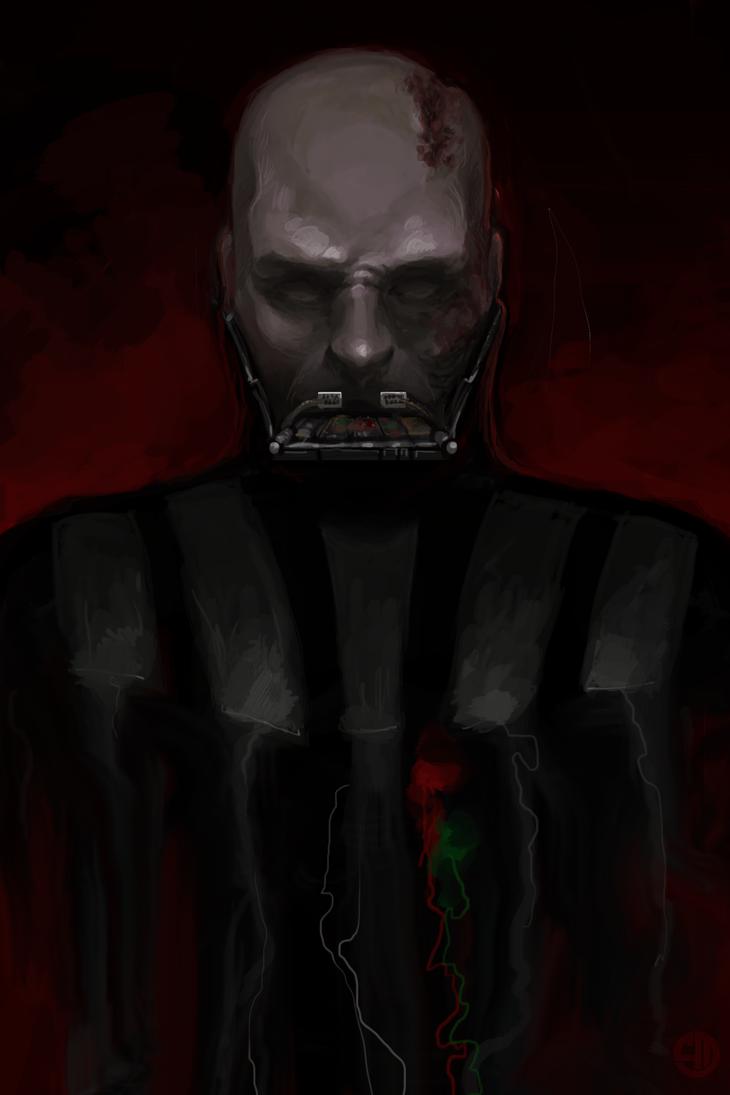 Vader unmasked by akhrzmed