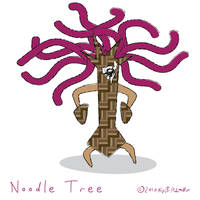 noodle tree by ynthamy