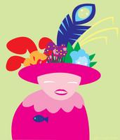 Portrait of Mrs. Gabor-Florida by ynthamy
