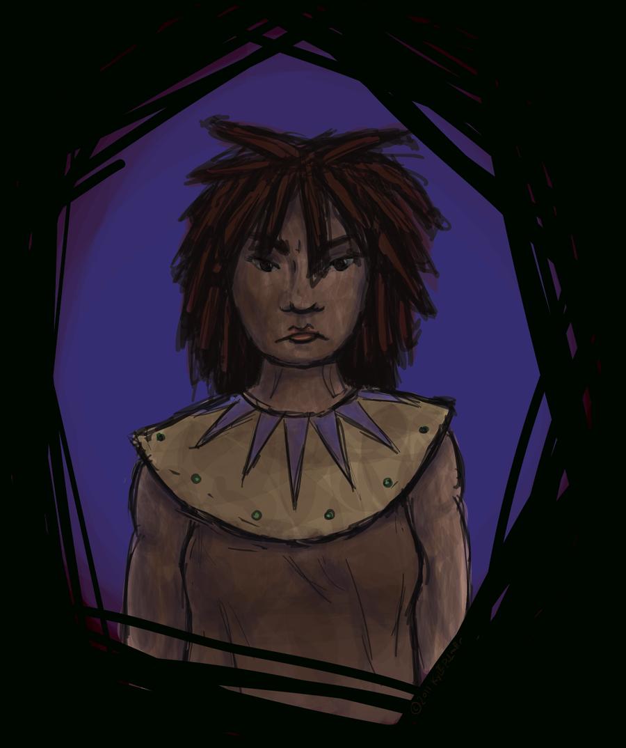 portrait of a demigoddess by ynthamy