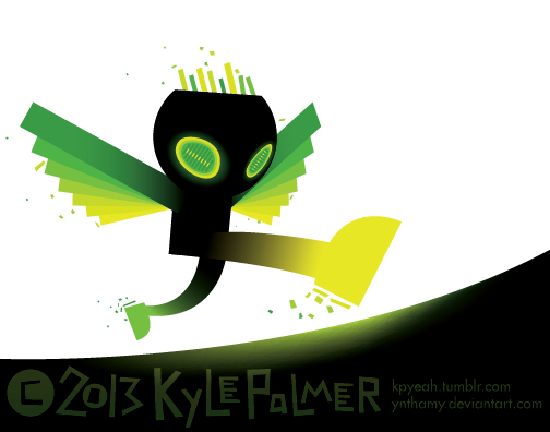 run, green rangel by ynthamy