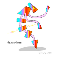 electronic danceer by ynthamy