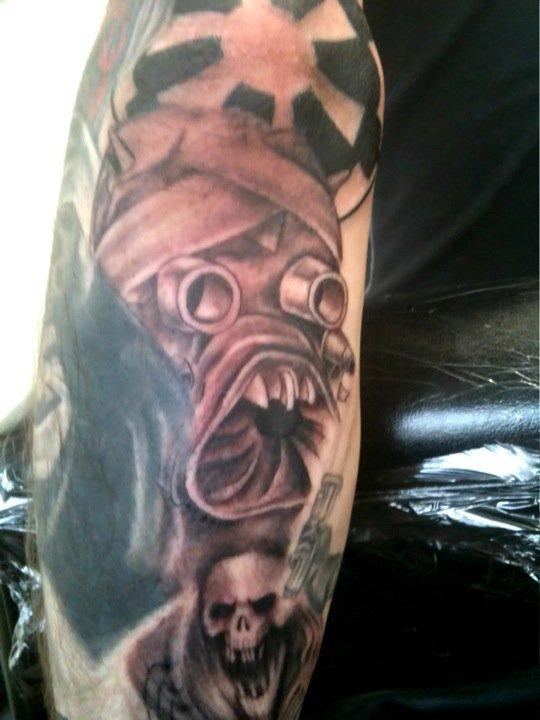 Star Wars Sleeve Tuskan Raider - sleeve tattoo