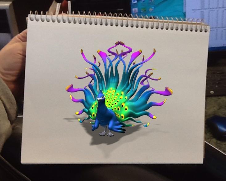 Van Dutch Inspired Peacock by Khimera