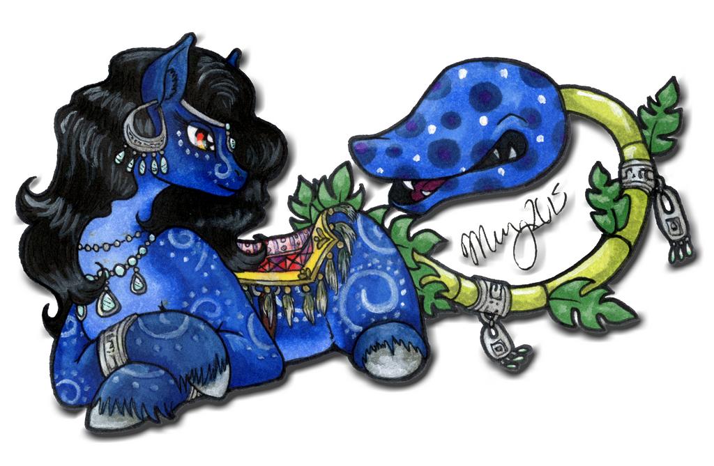 Tarot Night and Belladonna by Khimera