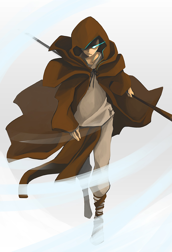 One A Day 03 - Aang by charlestanart