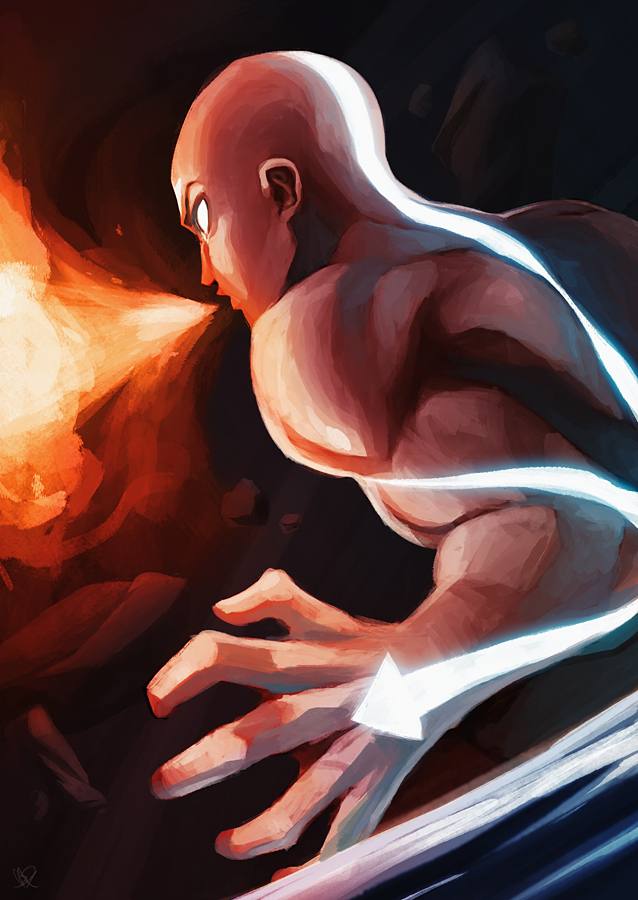 Avatar Aang by charlestanart