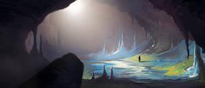 Cavern by charlestanart