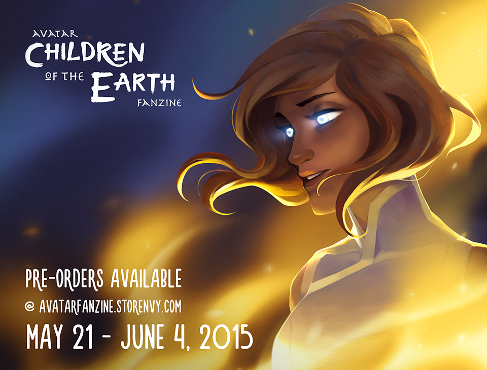 Avatar: Children of the Earth Fanzine Pre-orders by charlestanart