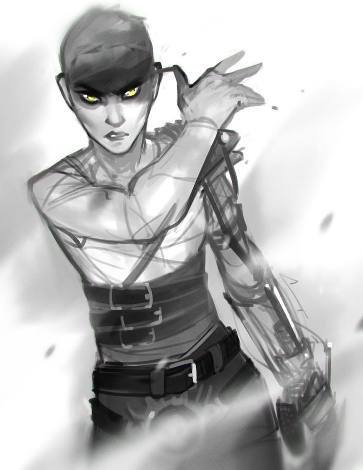 Sketch - Furiosa by charlestanart