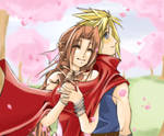 It's Spring. Cloud x Aerith