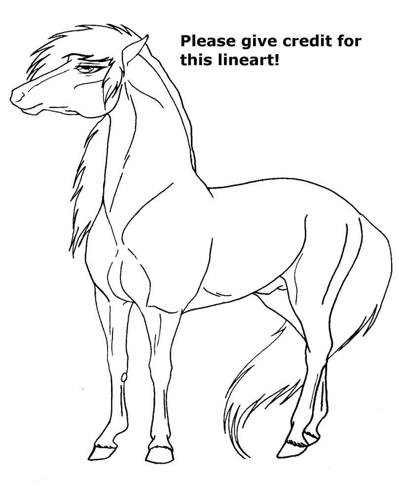 saddled horse coloring pages - photo#30